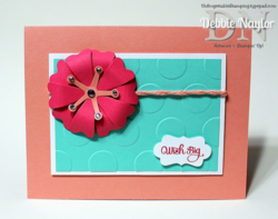 Unfrogettable Stamping | QE wish big flower frenzy card 2014-06-09