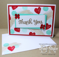 Unfrogettable Stamping | Work of Art thank you card 2014-06-04