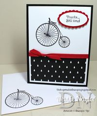 Unfrogettable Stamping QE Timeless Talk thank you card