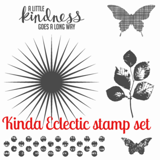 Unfrogettable Stamping | Kinda Eclectic stamp set by Stampin' Up!