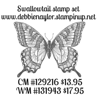 Unfrogettable Stamping | Swallowtail stamp set by Stampin Up
