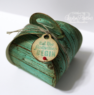 Unfrogettable Stamping | Curvy Keepsakes Favor Box - Gaylyn Pantana