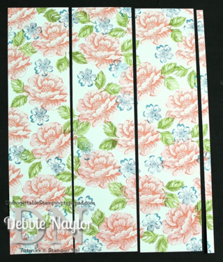 Unfrogettable Stamping | Stippled Blossoms one sheet wonder step 6