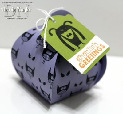 Unfrogettable Stamping | Freaky Friends Halloween curvy keepsakes box