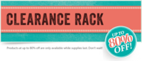 Unfrogettable Stamping | Clearance Rack savings
