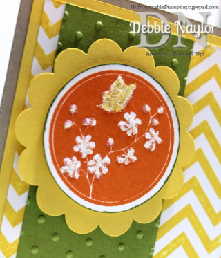 Unfrogettable Stamping | QE Serene Silhouettes thinking of you card 2014-08-19