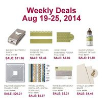 Weekly Deals Aug 19 to 25