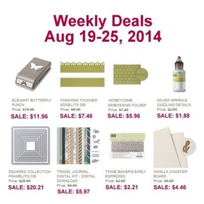 Unfrogettable Stamping | Weekly Deals Aug 19-25, 2014
