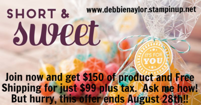 Unfrogettable Stamping | Short & Sweet starter kit promotion Aug 21-28