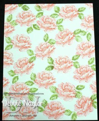Unfrogettable Stamping | Stippled Blossoms one sheet wonder step 4