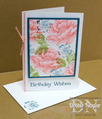 Unfrogettable Stamping | QE Stippled Blossoms birthday card 2014-09-02