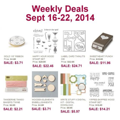 Unfrogettable Stamping | Weekly Deals Sept 16-22