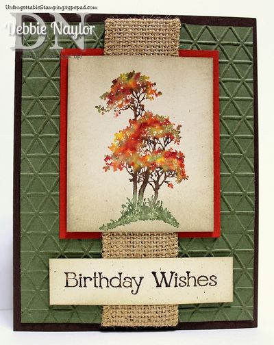 2014-09-23 Serene Silhouettes masculine fall birthday card