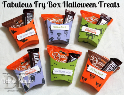 Unfrogettable Stamping | Fabulous Friday Fry Box Halloween Treats