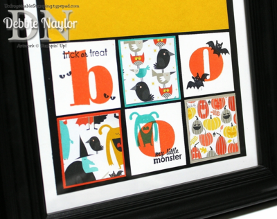 Unfrogettable Stamping | Mom and Me Halloween Boo frame