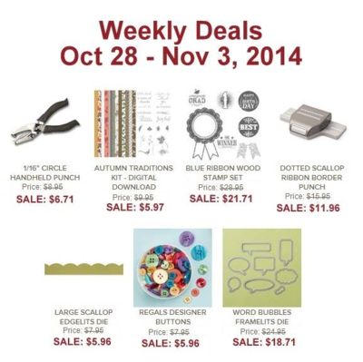 Unfrogettable Stamping | Weekly Deals Oct28-Nov3