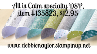 Unfrogettable Stamping | All is Calm specialty DSP