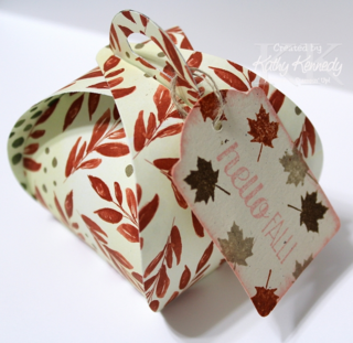 Unfrogettable Stamping | Curvy Keepsakes Favor Box - Kathy Kennedy