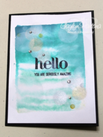 Unfrogettable Stamping | Gaylyn Pantana bokeh card 1