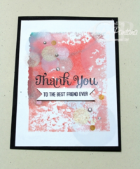 Unfrogettable Stamping | Gaylyn Pantana bokeh card 2