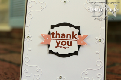 Unfrogettable Stamping | QE Filigree thank you card 2014-08-26