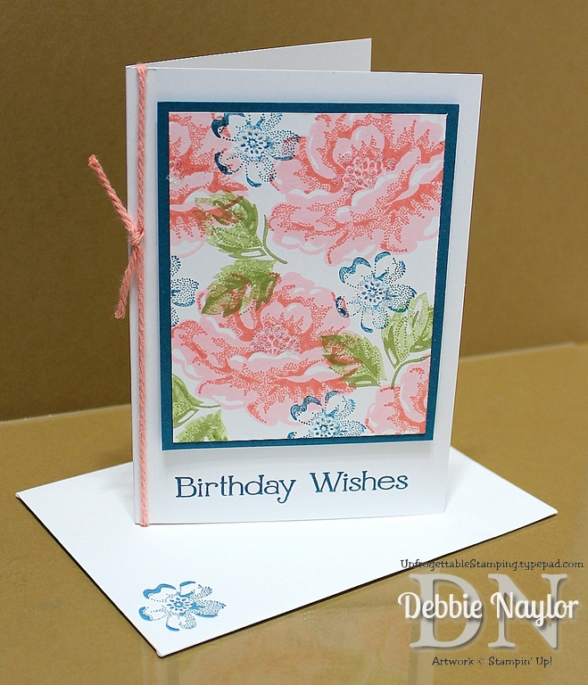 video quick  easy stippled blossoms birthday card tutorial, Birthday card