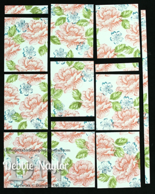 Unfrogettable Stamping | Stippled Blossoms one sheet wonder step 7