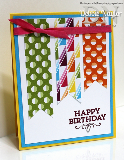 Unfrogettable Stamping | Sweet Taffy birthday card