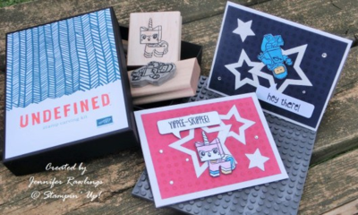 Unfrogettable Stamping | Undefined stamps by Jennifer Rawlings