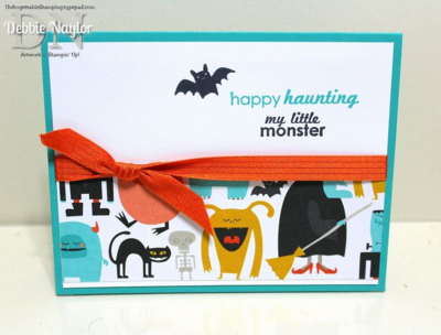 Unfrogettable Stamping | QE Happy Haunting card 2014-09-30