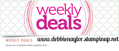 Unfrogettable Stamping   Weekly Deals from Stampin' Up! - save 25% while supplies last!