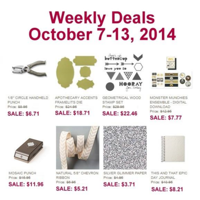 Unfrogettable Stamping | Weekly Deals Oct 7-13