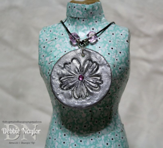 Unfrogettable Stamping   Fabulous Friday Pinspired necklace