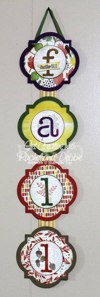 Unfrogettable Stamping | 2014 GCRD Week 1 Fall Banner tutorial