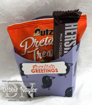 Unfrogettable Stamping | Fabulous Friday Fry Box Halloween Treat
