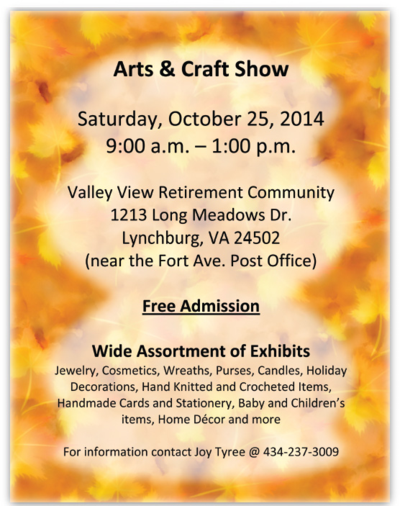 Unfrogettable Stamping | Valley View Arts and Crafts Show 10-25-14