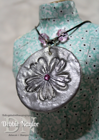 Unfrogettable Stamping | Fabulous Friday Pinspired Necklace