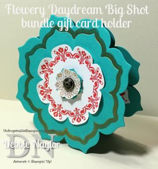 Unfrogettable Stamping   Floral Framelits card