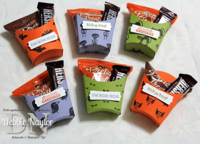 Unfrogettable Stamping   Fabulous Friday Fry Box Halloween Treats