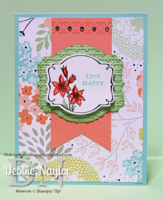 Unfrogettable Stamping SAB sneak peek card