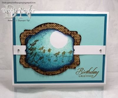Unfrogettable STamping Wetlands masculine card